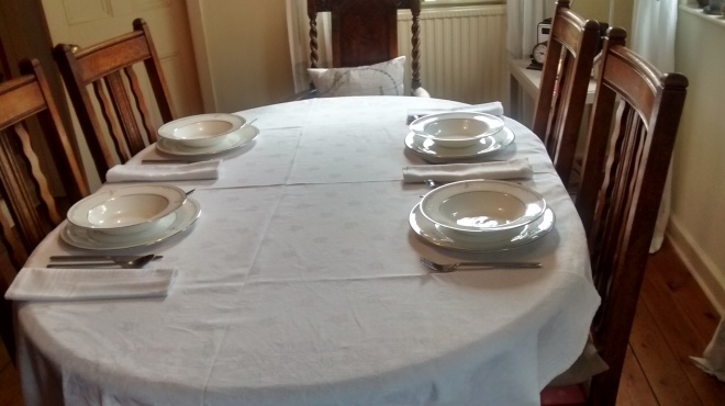 Setting the Table for Dinner