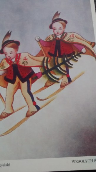 From an Old Christmas Card from the 1930s