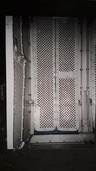 Doors of the lift cage